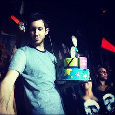 Calvin Harris Vegas birthday party, January 2012.