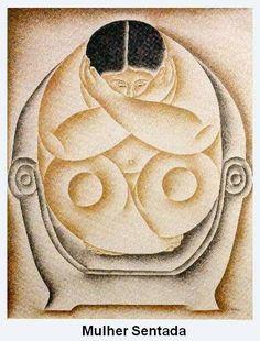 4 Mulher Sentada  Vicente do Rego Monteiro