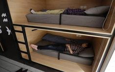 China's Techies Sleep On The Job, With The Boss's Blessing Power Nap, Bunk Beds, Sleep, House, Furniture, Home Decor, Image, Ideas, Decoration Home