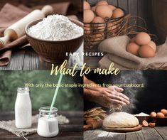 """We all have situations in life where we need recipes that only take a few staple ingredients to make. Easy recipes with no fuss. These recipes are for those """"what to make"""" days, those """"there is nothing in the house"""" days, or those """"what can I make with the minimum ingredients"""" days. We are here […] The post Staple Ingredient Best Recipes – How to Survive appeared first on TRAVEL AND HOME®."""
