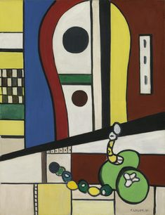 Fernand Léger  COMPOSITION (NATURE MORTE), 1937  http://www.sothebys.com/en/auctions/ecatalogue/2014/impressionist-modern-art-day-sale-l14004/lot.251.html