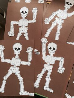 İskelet sistemi skeleton crafts kids