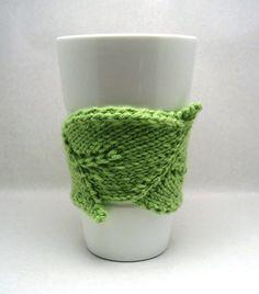 Leaf Cuddler PDF Knitting Pattern.