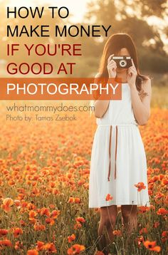 How to Make Extra Money if You're Good at Photography - I always find it amazing that you can earn cash doing things I love like taking photos of my family! Here are 5 ways you can make extra money on the side if you love photography…from taking baby pics to selling stock photography online. Some of these are pretty easy & unique!