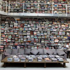 Fashion designer Karl Lagerfeld's Home Library!