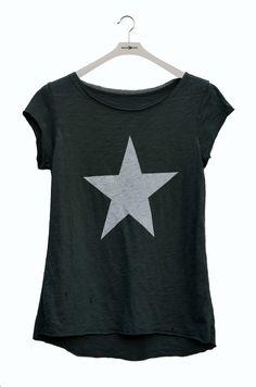 Camiseta con estrella última moda