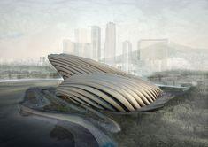 OODA: busan opera house via designboom
