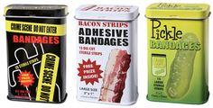 FUNNY FOOD BANDAGES