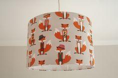 Lampenschirm Mr. Fox von Atelier Kleeblatt auf DaWanda.com