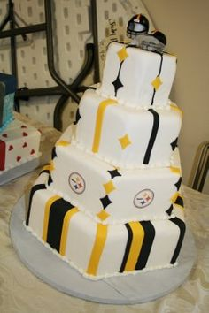 Steelers Cake love love this any occasion go steelers