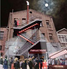 Staircase Theatre installation proposal Parramatta - The Lot