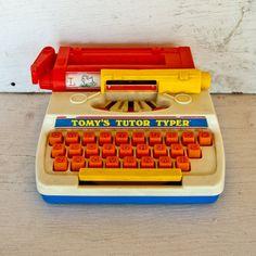 Vintage Typewriter 1977 Children's Toy