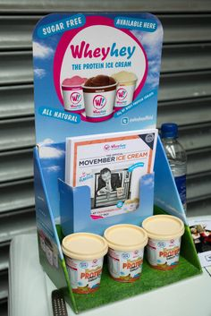 Thank you to Wheyhey for providing a sweet treat at Youth 100!