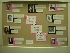 Women's History Month -- March 2013