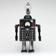 robot objet vintage