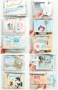 how to make a love story scrapbook