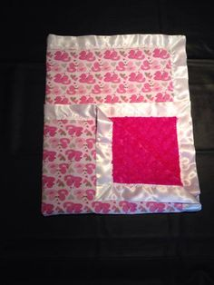 beautiful pink ducks on one side a pink rose cuddle on the other side. perfect blanket for new baby, toddler, or young girl.