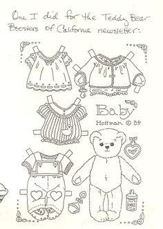 Miss Missy Paper Dolls: OPDAG Issue 22