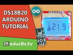 DS18B20 sensor Thermometer with Nokia 5110 LCD display - Arduino Project - YouTube