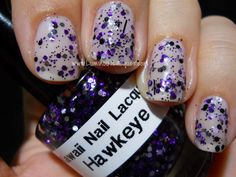 Luminous Lacquer: Kawaii Nail Lacquer - Hawkeye!