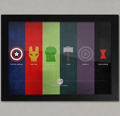 Marvels The Avengers Framed A3 Poster  