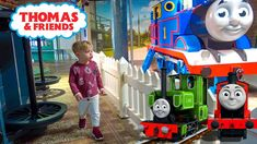 Deni had fun with Thomas the Tank Engine at indoor Playground. Thomas and Friends theme park for Family fun.