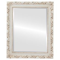 Vintage White Rectangle Mirrors from $146 | Free Shipping