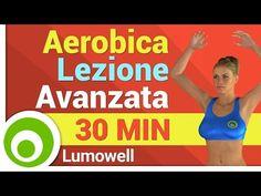 Aerobica per Dimagrire a Casa - Lezione Avanzata con Musica - YouTube