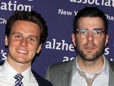 Jonathan Groff und Zachary Quinto