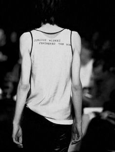 [Patti Smith for Ann Demeulemeester, S/S 2000]