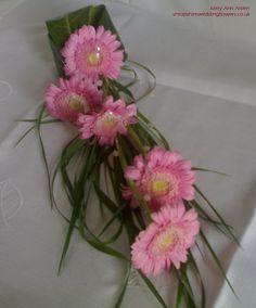 Mini Gerbera Over-Arm Bouquet