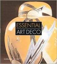 "Essential Art Deco  Author: Ghislaine Wood The glamour, vibrancy, and high style of the Art Deco age comes to life in this handsome companion to the ""Art Deco 19101939"" exhibition, on display at the Victoria and Albert Museum in London, and soon to travel through North America."