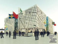 Gallery of Sweden Pavilion for Shanghai World Expo 2010 - 7