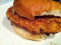 The Gingered Whisk: Breaded Pork Tenderloin Sandwich - oh the memories this evokes! Breaded Pork Tenderloin, Leftover Pork Tenderloin, Pork Tenderloin Sandwich, Pork Sandwich, Pork Tenderloin Recipes, Sandwich Recipes, Pork Recipes, Cooking Recipes, Pork Tenderloins