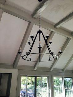 Farmhouse Chandelier Simple Chandelier, Farmhouse Chandelier, Custom Lighting, Candelabra, Track Lighting, Ceiling Lights, Rustic, Modern, Design