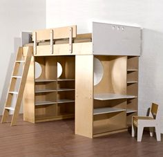 kids loft bed | Dumbo Loft Beds Furniture Design Children Bedroom Interior Casa Kids ...