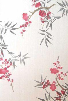 Wall Stencils   Cherry Blossoms Flower Stencil   Royal Design Studio