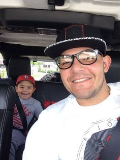 Yadi and his boy...too cute