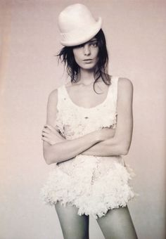 Daria Werbowy photographed by Paolo Roversi