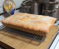 Mum's Old Fashioned Apple Slice - One of my husband's all time favourites. I've been making it for over 30 years and I still love the way his face lights up when I make it. Apple Recipes, Sweet Recipes, Baking Recipes, Cake Recipes, Dessert Recipes, Baking Desserts, Potato Recipes, Granny Smith, Good Food