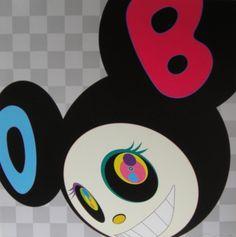 Takashi Murakami - AND THEN Black
