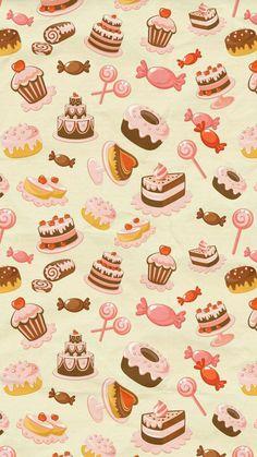 Trendy Wallpaper, Kawaii Wallpaper, Cute Wallpaper Backgrounds, Wallpaper Iphone Cute, Cute Cartoon Wallpapers, Flower Wallpaper, Galaxy Wallpaper, Cool Wallpaper, Pattern Wallpaper