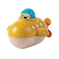 Plan Toys Onderzeeër, Submarine Kids Store, Toy Store, Wooden Bath, Baby Accessoires, Baby Bath Time, Plan Toys, Pbs Kids, Water Toys, Water Play