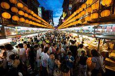 Night Market, Keelung, Taiwan