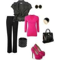 pink and black= yes