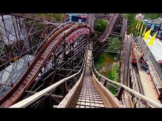 Linnanmäen Vuoristorata – The Roller Coaster at Linnanmäki Amusement Park, Helsinki, Attraction, Roller Coasters, Photo And Video, World, Places, Youtube, Design
