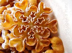 Rosettes ~ A Scandinavian Treat. Crispy, barely sweet, and ever so light.