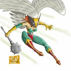 Kendra Saunders, Hawkgirl, Warriors, Dc Comics, Friday, Characters, Marvel, Animation, Drawings
