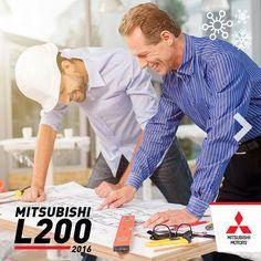 Prepara tus planes para el trabajo duro. Con la nueva Mitsubishi #L200 obtendras todo el rendimiento en tu jornada