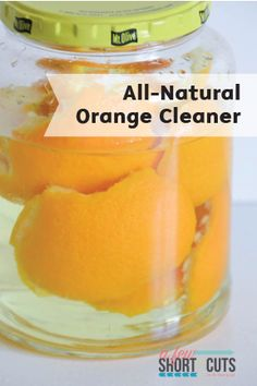 Get your home looking fresh this spring with this All-Natural Orange Vinegar Cleaner. It's super simple to DIY at home and use with Bounty Paper Towels to clean up any household messes and give your countertops a clean, chemical-free shine!
